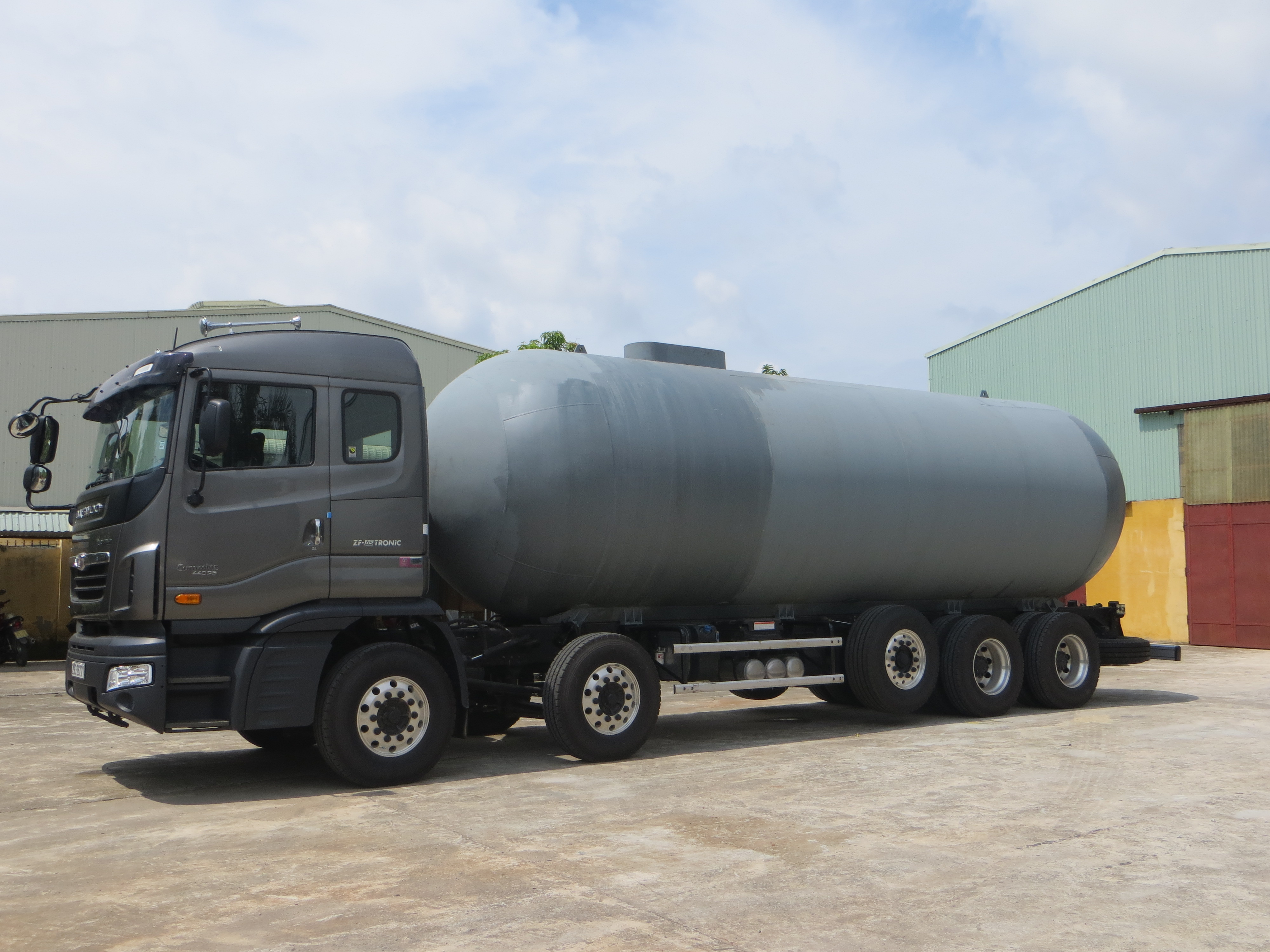 LPG storage tanks and transport, NH3